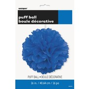 Royal Blue Tissue Paper Pom Pom (40cm) Pk1