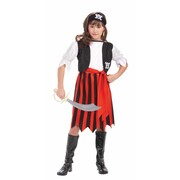 Child Pirate Lass Costume (Large, 12-14 Years)