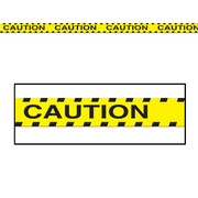 Yellow Caution Party Tape Pk 1