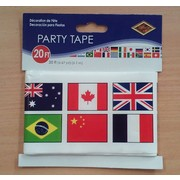 International Flag Party Tape (6.1m) Pk 1