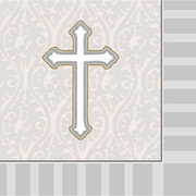 Devotion (Christening) 3Ply Lunch Napkins Pk 16
