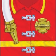 Fire Engine Party Napkins - Lunch 3Ply Firefighter Pk16