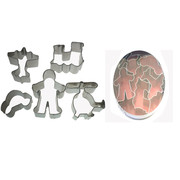 Boys with Toys Mini Cookie Cutter Set Pk 5