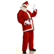 Adult Santa Suit Costume (XXL Fits up to Chest Size 54) Pk 1