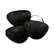 Black Pirate Eyepatches Party Favours Pk 96