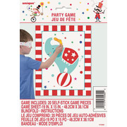 Circus Carnival Party Game Pk 1