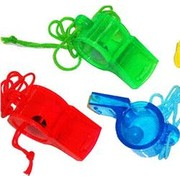 Sports Whistles Party Favours Pk 60