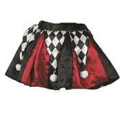 Adult Halloween Harlequin Costume Tutu (Small) Pk 1 (Tutu Only)
