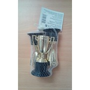 Gold Mini Trophy Party Favours with Black Bases Pk 3