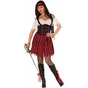 Adult Female Salty Sally Pirate Costume (One Size) Pk 1