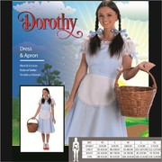 Adult Dorothy Costume (Large, 16-18)