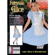 Adult Fairy Tale Alice Costume (Large, 16-18) Pk 1