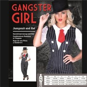 Adult Gangster Girl Costume (Large, 16-18)