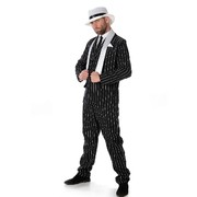 Adult Gangster Boss Zoot Suit Costume (Large, 107-112cm) Pk 1
