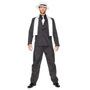 Adult Gangster Boss Zoot Suit Costume (Medium, 97-102cm) Pk 1