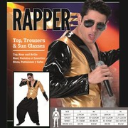 Adult Rapper Costume (Medium, 97-102cm)