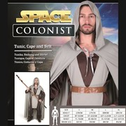 Adult Space Colonist Costume (Medium) Pk 1