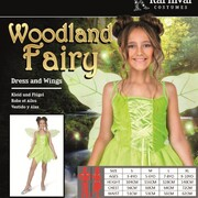 Child Woodland Fairy Costume (Small, 3-4 Years)