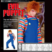 Adult Evil Puppet Halloween Costume (Large) Pk 1