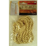 Gold Rope Belt with Tassels Pk 1