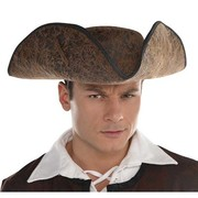 Ahoy Matey Brown Pirate Hat Pk 1