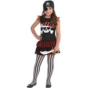 Child Pirate Girl Dress (One Size) Pk 1 (DRESS ONLY)