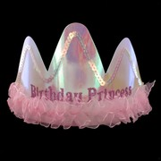 Princess Party Tiara - Birthday Princess Pk1