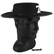 Black Zorro Hat Pk 1