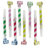 Party Blowouts - Squawkers Pk8 (Assorted Designs)