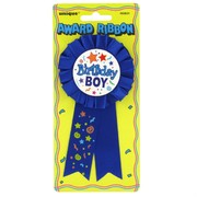 Award Ribbon Birthday Boy Pk1