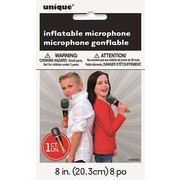 Inflatable Microphone (8in.) Pk 1 (1 MICROPHONE ONLY)