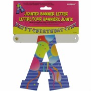Banner Jointed Letter A Pk1