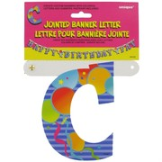 Banner Jointed Letter C Pk1