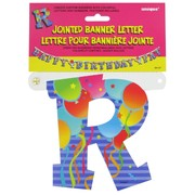 Banner Jointed Letter R Pk1