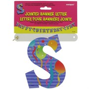 Banner Jointed Letter S Pk1