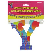 Banner Jointed Letter Y Pk1