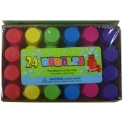 Party Bubbles - Assorted Colour Bottles Pk 24