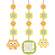 Baby Shower Hanging Decorations - Happi Tree Pk3