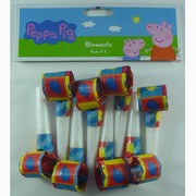Peppa Pig Blowouts Pk 8