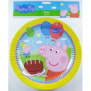 Peppa Pig Paper Plates (9in-23cm) Pk 8