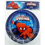 Ultimate Spiderman Plates - 9in Pk8