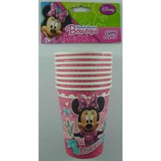 Minnie Mouse 9oz. Paper Cups Pk 8