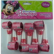 Minnie Mouse Hearts & Ribbons Blowouts Pk 8