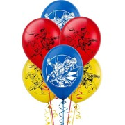 Justice League Latex Balloons (30cm) Pk 6