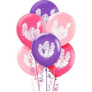 Disney Princess Latex Balloons (30cm) Pk 6