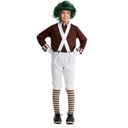 Child Brown Candy Maker Boy Costume (Large, 142cm-152cm) Pk 1