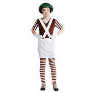 Child Brown Candy Maker Costume (Large, 142cm-152cm) Pk 1