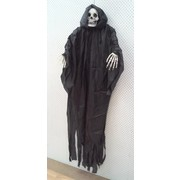 Animated Hanging Reaper Decoration (150cm) Pk 1
