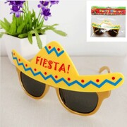 Mexican Fiesta Party Novelty Glasses Pk 1