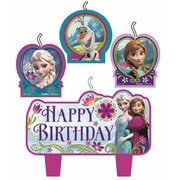 Frozen Candle Set Pk 4
